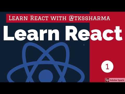 Learn React from My Channel @tkssharma
