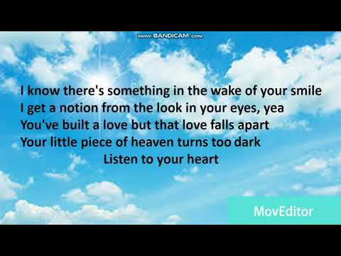 2Pac - Listen To Your Heart Lyrics