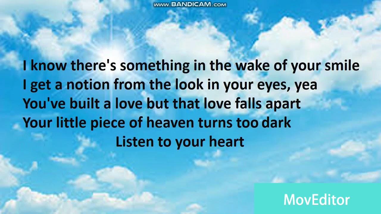 2Pac - Listen To Your Heart Lyrics