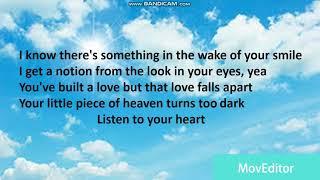 2Pac Listen To Your Heart Lyrics