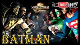 Mortal Kombat VS DC Universe [Xbox 360] - ✪ Batman ✪ |〘Arcade Mode〙