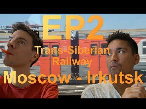 [Ep2] Trans-Siberian Railway | Moscow - Irkutsk