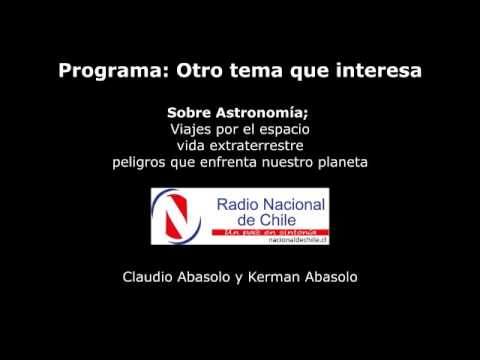 Astronomía, viajes por el espacio, vida extraterrestre y peligros que enfrenta nuestro planeta