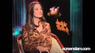 ScreenSlam -- JACKIE BROWN: Interview with Bridget Fonda