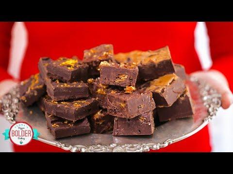 3 Ingredient Microwave Fudge (Cookie Butter, Praline, and Chocolate & Orange)