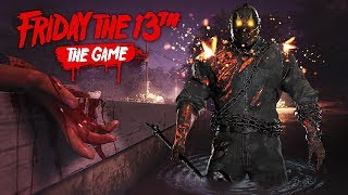 ДЖЕЙСОНА НЕ ОСТАНОВИТЬ!! - Friday the 13th: The Game