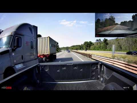 Driving I95 N, Pooler Ga To SC With Mini 0906 DashCam