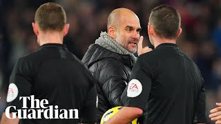'Don't ask me, ask the referees': Pep Guardiola on Liverpool defeat