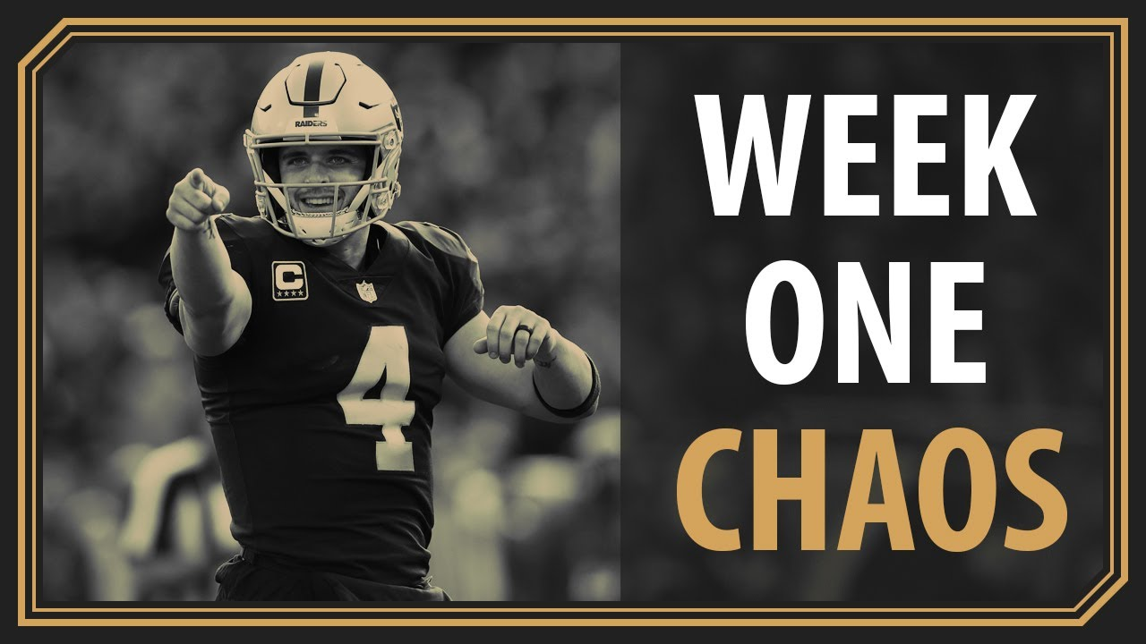 The PURE CHAOS of NFL Week One