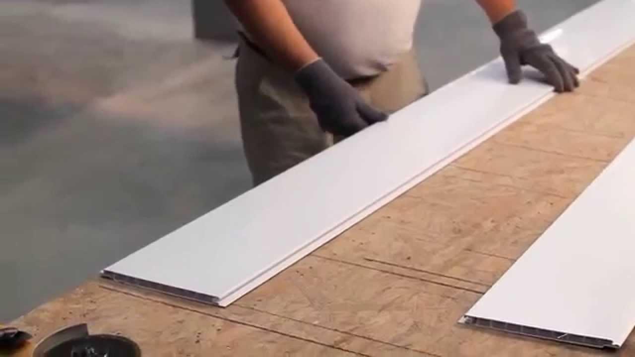 Instalaci n de un cielorraso de pvc rgb pvc youtube - Instalacion de pladur en paredes ...