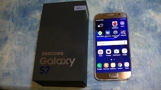 дешевый Samsung Galaxy S7 с Aliexpress (распаковка и первичный обзор)