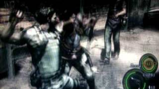 BREVI Resident Evil 5 gameplay xbox 360 ITALY