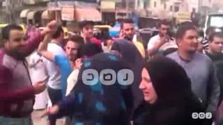 رصد   جانب من فرحة أهالي معتقلي الدلنجات بعد براءة 16 من  ذويهم