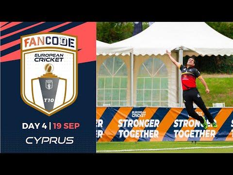 🔴 FanCode European Cricket T10 Cyprus,  Limassol | Day 4 T10 Live Cricket