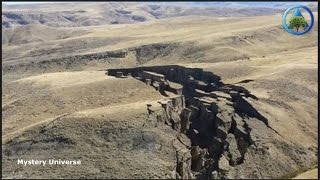 Massive crack in earth mysteriously opens up in Bighorn Mountains,Wyoming