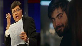 Arnab Goswamis Take On Boycotting Fawad Khan