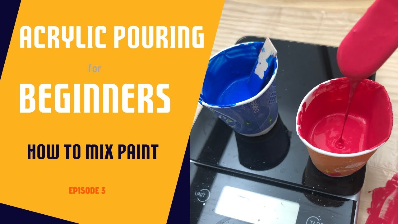 How To Prepare Acrylic Paint For Pouring Left Brained Artist