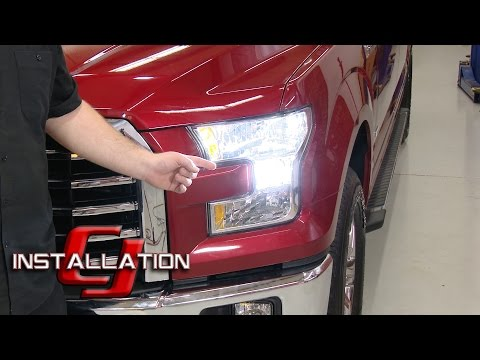 F-150 PUTCO Low Beam Headlight Bulb Silver-Lux LED H11 Cool White Pair Halogen 2015-17 Installation