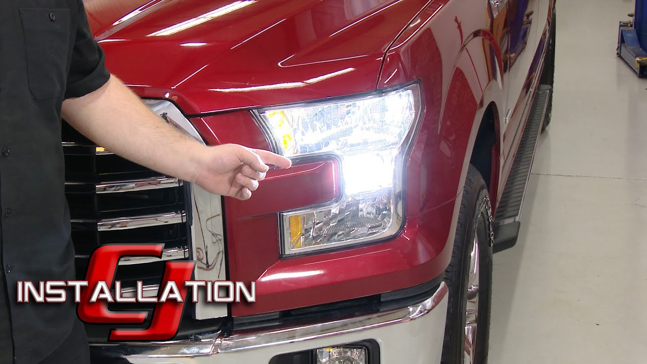 F 150 PUTCO Low Beam Headlight Bulb Silver Lux LED H11 Cool White     F 150 PUTCO Low Beam Headlight Bulb Silver Lux LED H11 Cool White Pair  Halogen 2015 17 Installation   YouTube