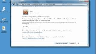 Comment  créer et configurer un compte utilisateur sous Windows7.www.formenligne.org