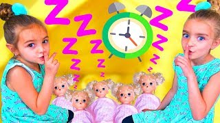 KIDS PRETEND PLAY WITH BABY ALIVE DOLLS FUNNY TOYS BY LAS RATITAS