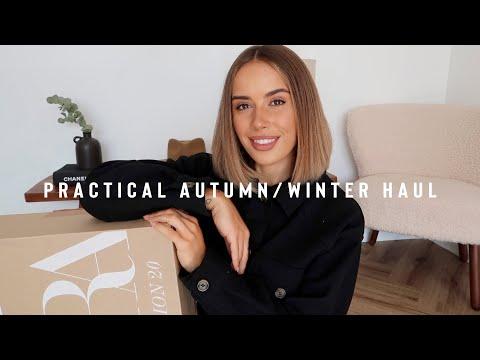 PRACTICAL AUTUMN WINTER ESSENTIALS HAUL   Suzie Bonaldi