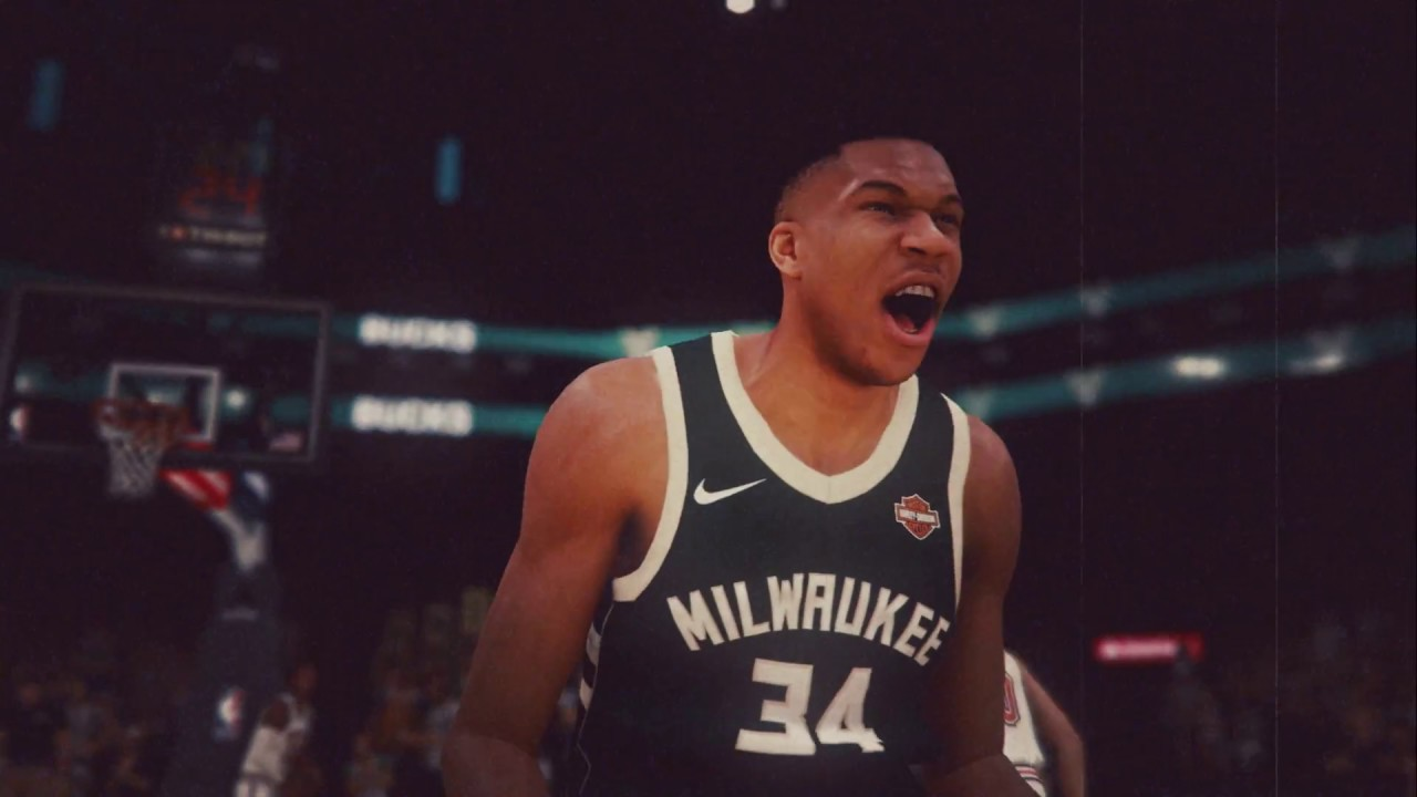 PS4 - NBA2K19 Giannis Announcement