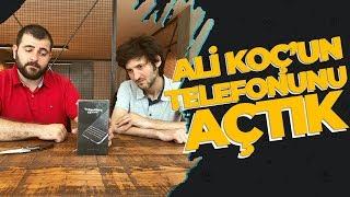 Ali Koç'un telefonunu açıyoruz! - Blackberry KEYone kutusundan çıkıyor!