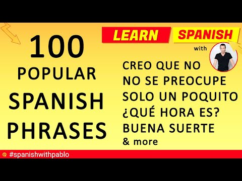 Common spanish phrases dating