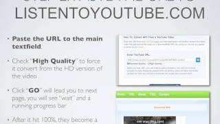 how to download mp3 from youtubecom