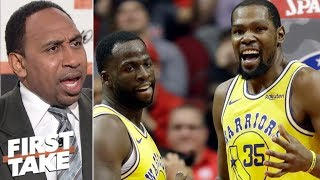 Kevin Durant Warriors' drama is over - Stephen A. | First Take