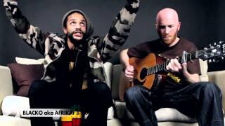 Blacko aka Afrikaf & Kubix Mon Rêve [Session Acoustique Jamafra]