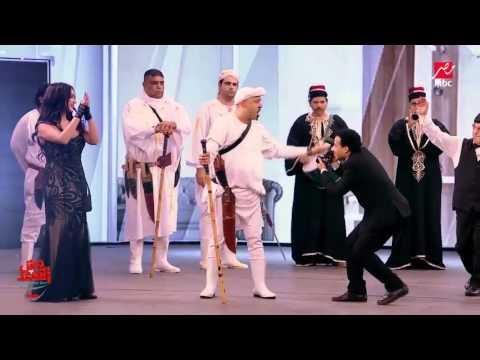 فيديو محمد سعد يستولي على قناة MBC المعلم بوحة وش السعد