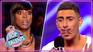 Rudest Auditions...EVER? | X Factor, Got Talent & Idols | Top Talents MP3