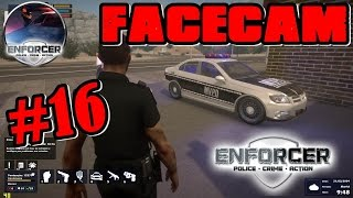 SERIE VIDA POLICIAL #16 COM FACECAM JOGO ENFORCER POLICE CRIME ACTION