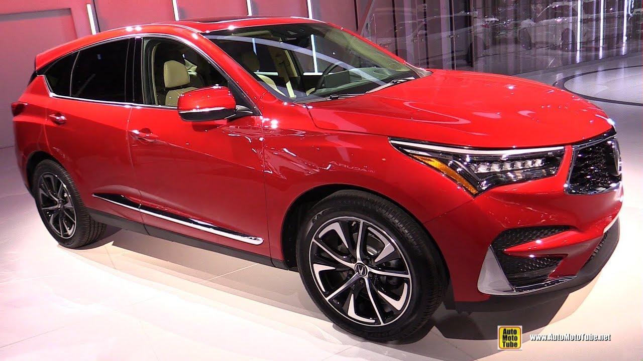 2019 Acura Rdx Exterior And Interior Walkaround 2018 New York