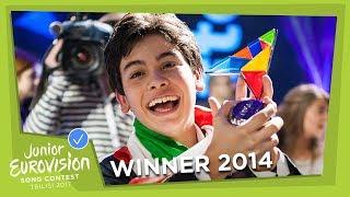 JUNIOR EUROVISION 2014: VINCENZO CANTIELLO - TU PRIMO GRANDE AMORE - ITALY 🇮🇹  - WINNER