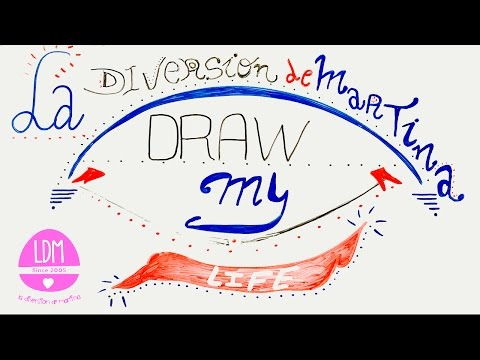 DRAW MY LIFE - DIBUJO MI VIDA-LA DIVERSION DE MARTINA