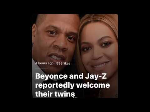 BEYONCE and JAY Z Welcome Twins Into The World - Granddad, Mathew Knowles Confirms