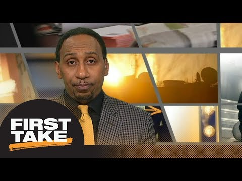 Stephen A. reveals Browns under pressure to draft Saquon Barkley No. 1 overall | First Take | ESPN
