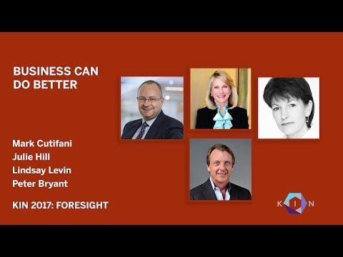 Mark Cutifani, Julie Hill, Lindsay Levin, Peter Bryant: KIN Global 2017