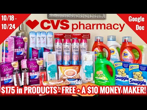 CVS Free & Cheap Coupon Deals & Haul |10/18 – 10/24 | I Made Some Mistakes 🥴 But Still Made MONEY 🙌🏽