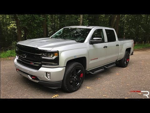 2017 Chevrolet Silverado Redline Edition – Redline: Review