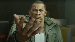 "Yakuza 0: Wen Hai Lee ""God Hands"" Boss Fight (2nd Encounter) (1080p 60fps)"