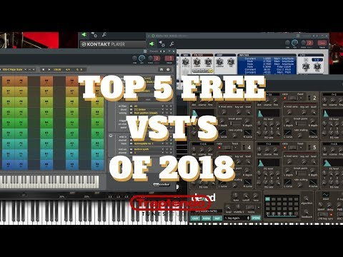 Ave Mcree Top 5 VST's 2018!