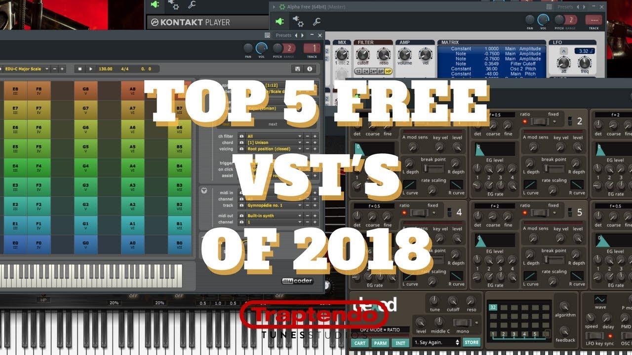 TOP 5 FREE VST OF 2018 | WIN/MAC | AUDIO EXAMPLES