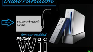 Dual Partitioning a hard drive for your Nintendo Wii