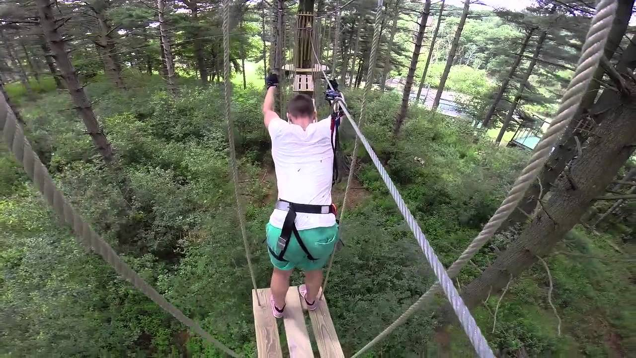 An action packed 1- hour introduction to a high-ropes activity. Build confidence, problem-solving and balance with adventure. Treetop Junior provides a primer for the various obstacles, climbs and zip lines featured in a Go Ape adventures, at a lower height.