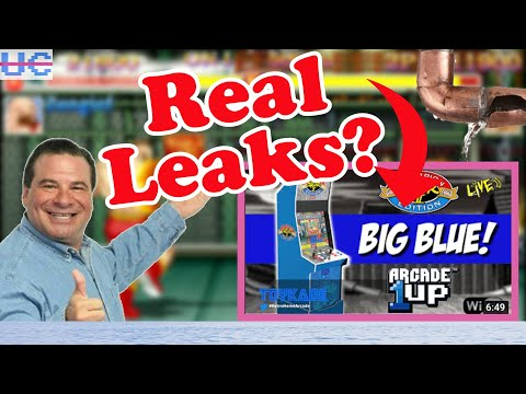 Where Are All These Arcade1up Leaks From?! Capcom Big Blue May Be Incoming But Is It Real? from Unqualified Critics