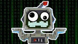 Hermitcraft Memes V12   Grumbot In Matrix